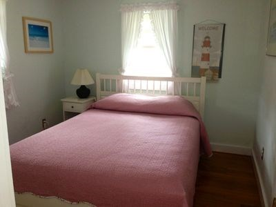 West Harwich Cape Cod vacation rental - Bedroom with queen size bed