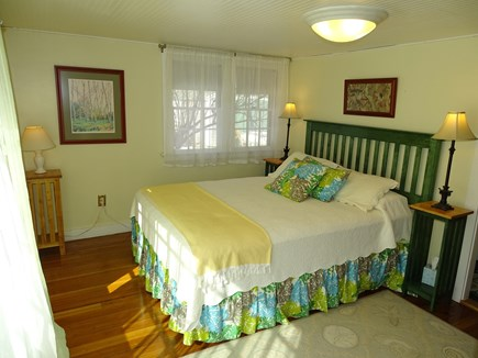 Yarmouth, Bass River Cape Cod vacation rental - Main floor queen bedroom with ensuite bath