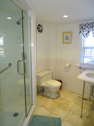 Yarmouth, Bass River Cape Cod vacation rental - Main floor bathroom with new shower