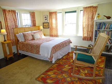 Yarmouth, Bass River Cape Cod vacation rental - Main floor queen bedroom with fireplace