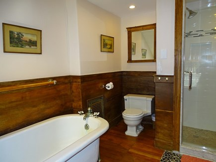 Yarmouth, Bass River Cape Cod vacation rental - Master bath with new shower