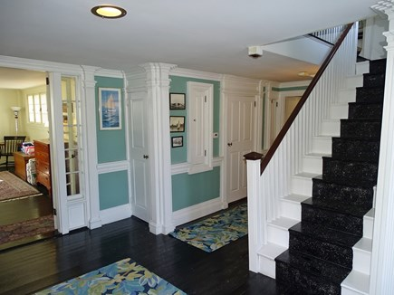 Yarmouth, Bass River Cape Cod vacation rental - Entry way at base of staircase