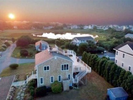 Falmouth Cape Cod vacation rental - Getting the day started off right!