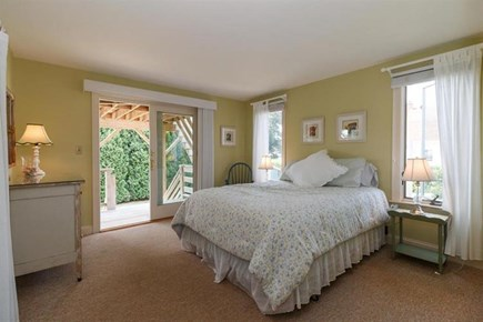 Falmouth Cape Cod vacation rental - Enjoy the deck off this bedroom!