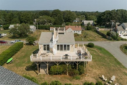 Falmouth Cape Cod vacation rental - Join me outside on the deck!