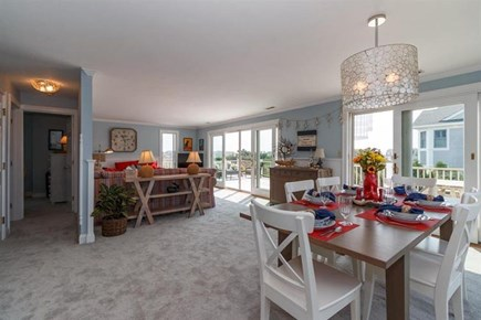 Falmouth Cape Cod vacation rental - Bright and airy living room and dining room!