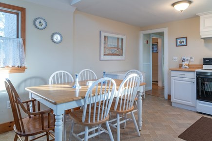 South Chatham Cape Cod vacation rental - Kitchen with Dining Table