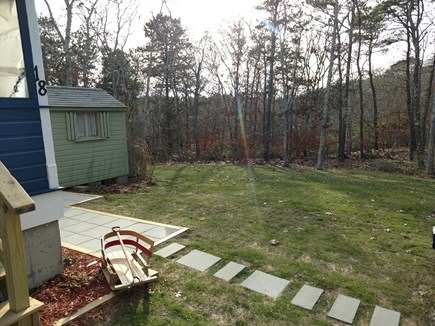 East Harwich Lond Pond Cape Cod vacation rental - Grassy area for outdoor games