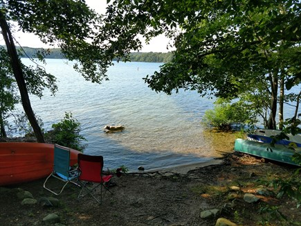 East Harwich Lond Pond Cape Cod vacation rental - Lake area