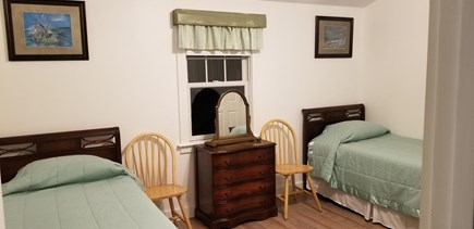 East Harwich Lond Pond Cape Cod vacation rental - Brand new bedroom with twin beds , air conditioning, and closet