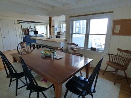 Dennis, East Dennnis Cape Cod vacation rental - Dining room next to kitchen