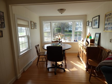 Dennis, East Dennnis Cape Cod vacation rental - Separate eating area in Family room