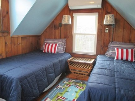 Wellfleet Cape Cod vacation rental - 2 Twins with separate stairway.  Great for Teens!!!!