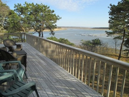 Wellfleet Cape Cod vacation rental - Upper Deck
