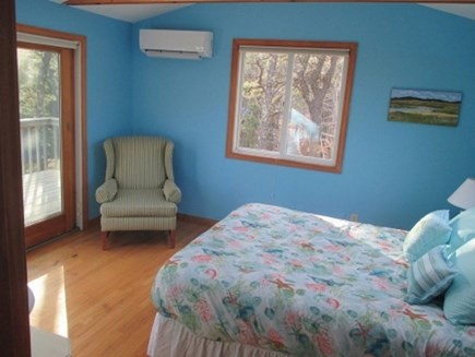 Wellfleet Cape Cod vacation rental - Master bedroom with great views