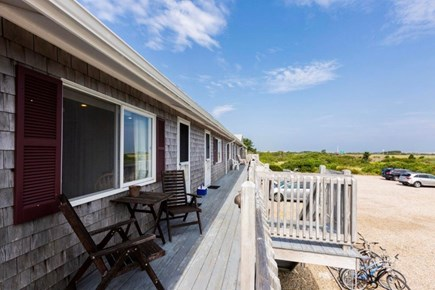 North Truro Cape Cod vacation rental - Your back deck for the week.