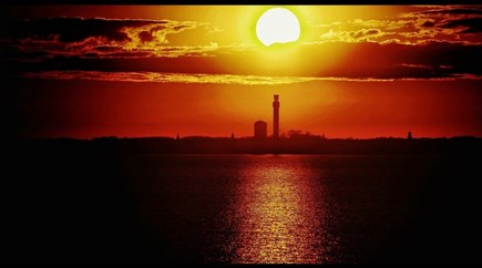 North Truro Cape Cod vacation rental - Sunset view of P Town