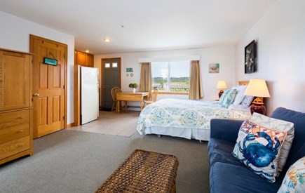 North Truro Cape Cod vacation rental - Queen bed and queen sleeper sofa.