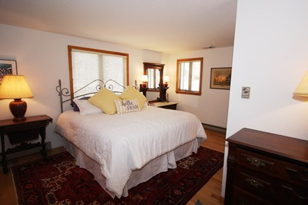 Brewster Cape Cod vacation rental - King sized bed on second floor with en suite bath