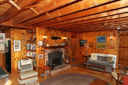 East Orleans Cape Cod vacation rental - Living Room Area