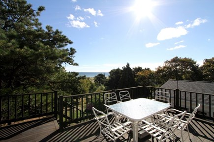 East Orleans Cape Cod vacation rental - Beautiful views from the sunny deck!