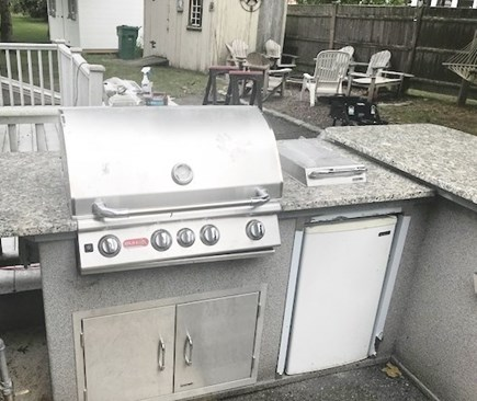 South Yarmouth Cape Cod vacation rental - Outdoor Kitchen with Gas Grill