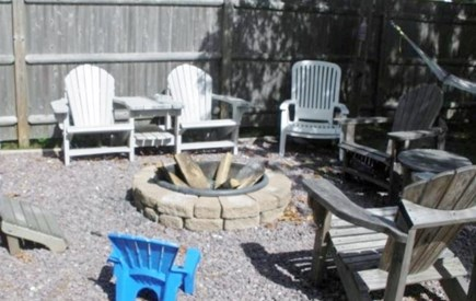 South Yarmouth Cape Cod vacation rental - Firepit