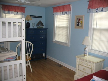 South Yarmouth Cape Cod vacation rental - Kids room with bunk beds, twin and trundle