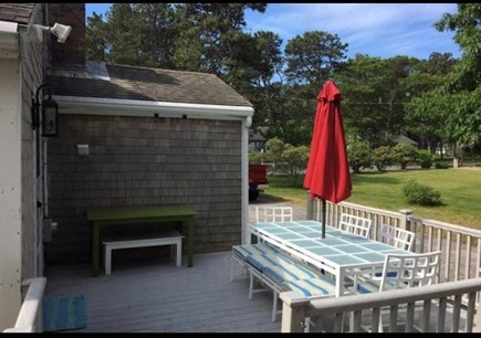 South Yarmouth Cape Cod vacation rental - Deck