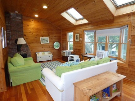 Dennis Cape Cod vacation rental - Family room at other end of house