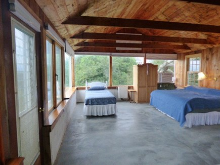Dennis Cape Cod vacation rental - Bedroom with king bed and twin