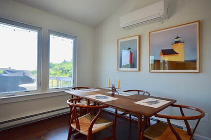 Truro Cape Cod vacation rental - Indoor dining table in the main living area