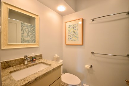 Truro Cape Cod vacation rental - Lower level full bath with tub/shower combo
