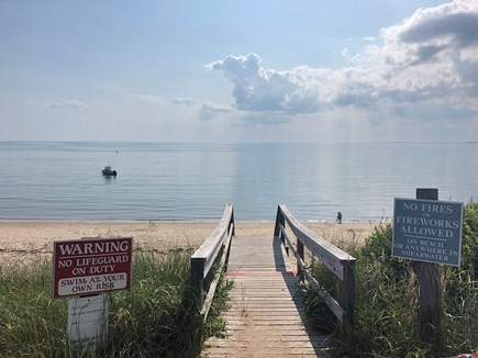 Truro Cape Cod vacation rental - Association beach is just steps away