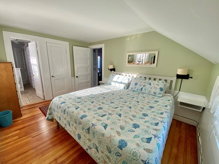 Hyannis Cape Cod vacation rental - Master bedroom with king size bed