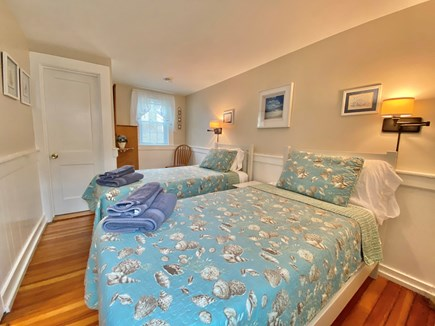 Hyannis Cape Cod vacation rental - 2nd bedroom with two twin beds