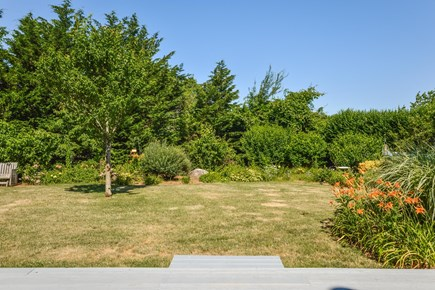 East Orleans - Barley Neck Cape Cod vacation rental - Private Back Yard