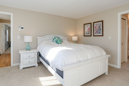 East Orleans - Barley Neck Cape Cod vacation rental - 2nd Floor Master Bedroom (Queen Bed) with Private Bath