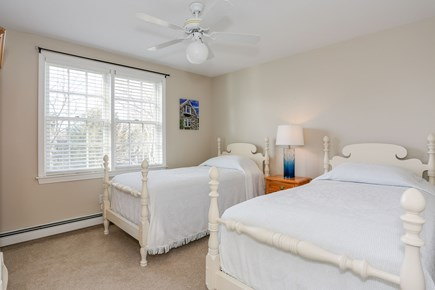 East Orleans - Barley Neck Cape Cod vacation rental - 2nd Floor Bedroom (2 Twin Beds)