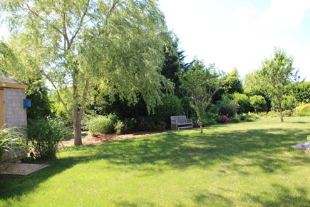 East Orleans - Barley Neck Cape Cod vacation rental - Very private back yard