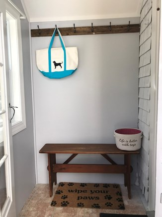 Orleans Cape Cod vacation rental - Entry way is a perfect place to hang your coats.