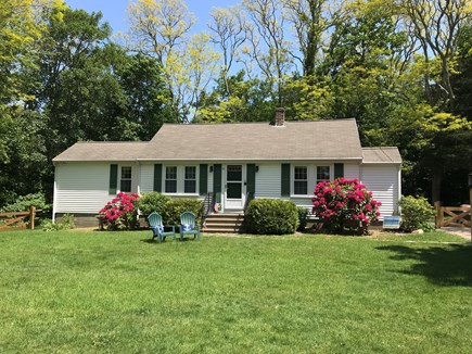 Orleans Cape Cod vacation rental - Charming ranch with flat yard perfect for yard games.