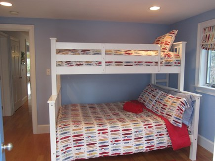 North Chatham Cape Cod vacation rental - Bunk bedroom on 1st floor- kids love it!