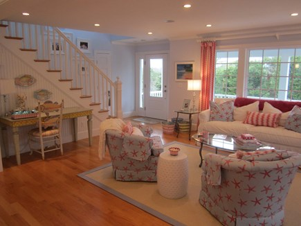 North Chatham Cape Cod vacation rental - Welcoming living room, beautifully decorated.