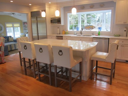 North Chatham Cape Cod vacation rental - Large, newly renovated kitchen w/high end appliances, gas stove.