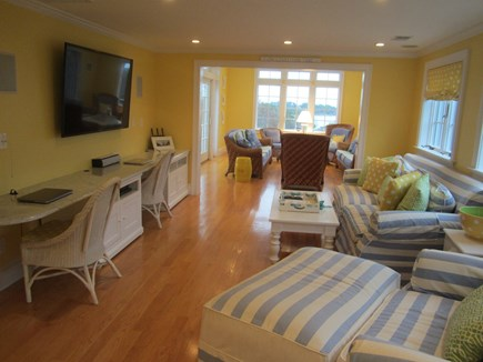 North Chatham Cape Cod vacation rental - 2nd floor family room.
