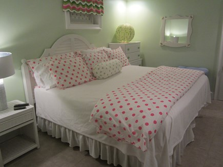 North Chatham Cape Cod vacation rental - King bedroom in basement with full bath.