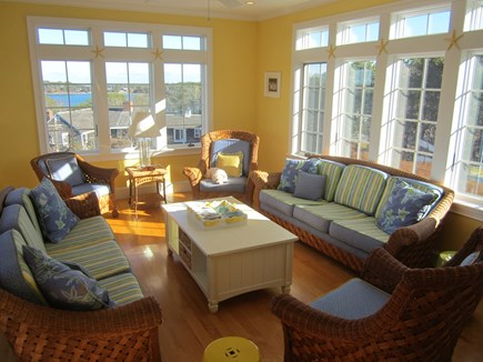 North Chatham Cape Cod vacation rental - Sun room with ocean views!