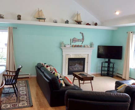 Brewster Cape Cod vacation rental - Living Room, Alternate View