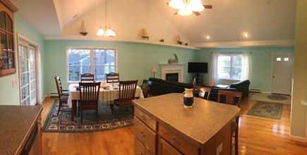 Brewster Cape Cod vacation rental - Open Concept Kitchen and dining room